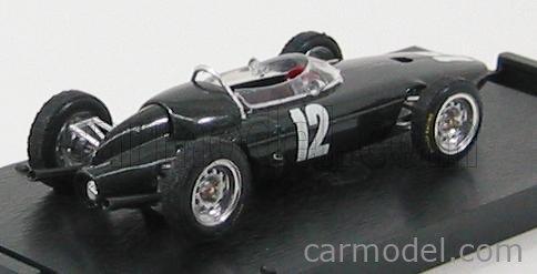 BRUMM R324 Echelle 1/43  BRM F1 P57 GP ITALIA 1962 N 12 R.GINTHER BLACK MET