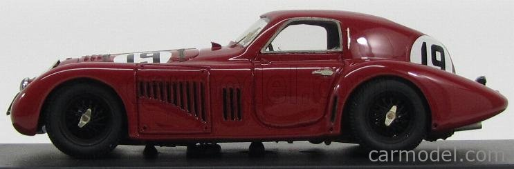 PINKO PI118 Masstab: 1/43  ALFA ROMEO 8C 2900B SPECIALE TOURING COUPE TEAM RAYMOND SOMMER N 19 24h LE MANS 1938 R.SOMMER - C.BIONDETTI BORDEAUX