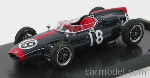 BRUMM R320 Echelle 1/43  COOPER F1  T53 GP GERMANIA 1961 N 18 J.SURTEES BLUE