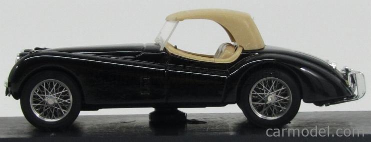 BRUMM R102-02 Echelle 1/43  JAGUAR XK 120 3.5 LITRI 1948 CLOSED BLACK