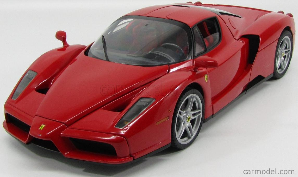 Edicola Dea Scale 1 10 Ferrari Enzo 2002 With Working Lights And Sound Red