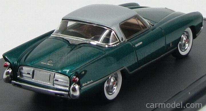 MATRIX SCALE MODELS MX41401-011 Masstab: 1/43  NASH RAMBLER PALM BEACH PININFARINA 1956 GREEN MET