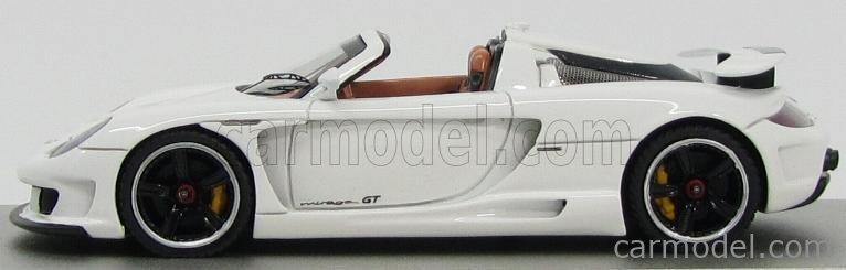 TECNOMODEL T-EX23C Echelle 1/43  PORSCHE GEMBALLA MIRAGE ST SPIDER (BASED PORSCHE 908) BY AUTOBARN 2008 WHITE