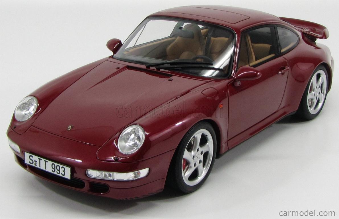 Gt Spirit Gt014a Scale 1 12 Porsche 911 993 Turbo 1998 Arena Red