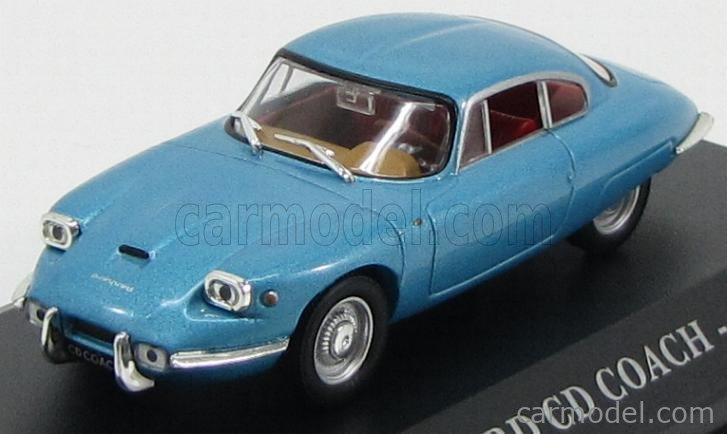 EDICOLA VOITFRANCDAF008 Masstab: 1/43  PANHARD CD COACH 1962 LIGHT BLUE MET