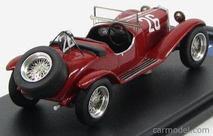 FB-MODEL FB81A Masstab: 1/43  ALFA ROMEO 6C 1500 SS ZAGATO N 26 2nd 24H SPA 1929 IVANOSKY - EYSTON RED