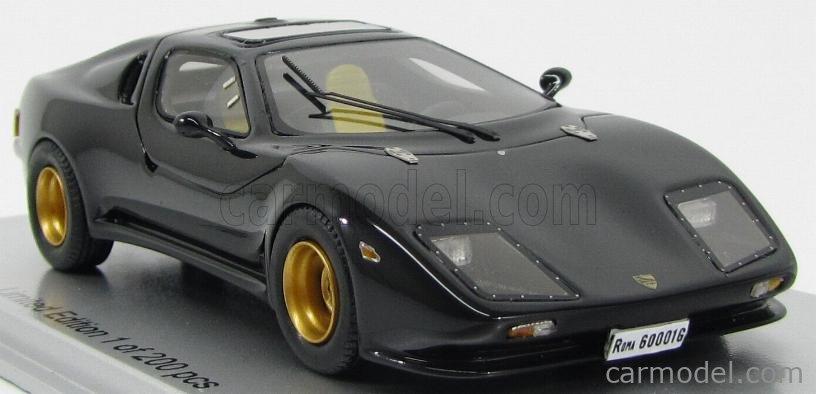 KESS-MODEL KE43016000 Масштаб 1/43  PUMA GTV 033 1985 with Alfa Romeo chassis and engine BLACK
