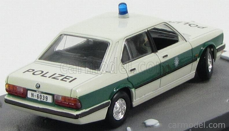 Bmw 5-Series 518I Polizei Police 1980 007 James Bond Octopussy 1:43 BONDCOL066