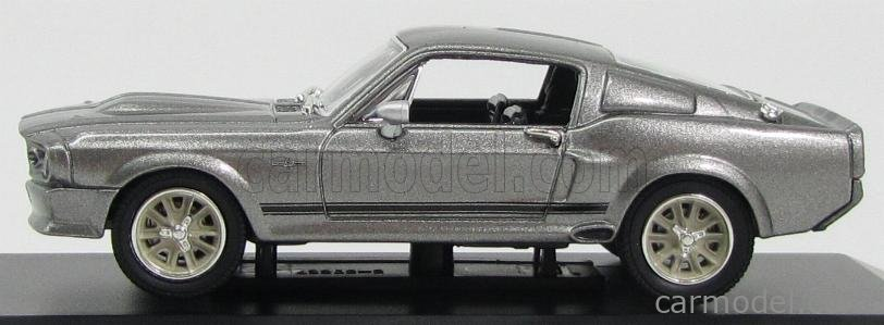 MUSTANG SHELBY GT500E 1967 1//43 GREENLIGHT FUORI IN 60 FORD USA ELEANOR