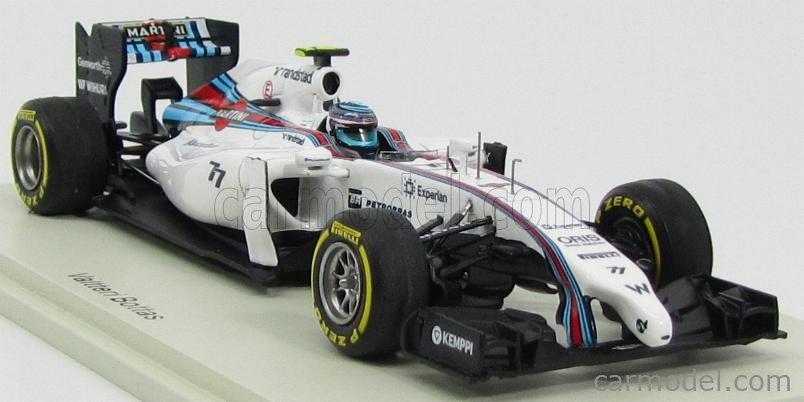 Williams Fw36 V.Bottas 2014 N.77 3Rd Abou Dhabi Gp 1:43 Spark S3144 Modellbau