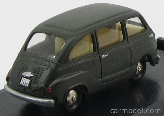 MERCURY SCOTTOY SCOTT02EI Echelle 1/45  FIAT 600 MULTIPLA ESERCITO ITALIANO 1956 - POLICE MILITARY GREEN