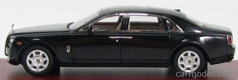 TRUESCALE TSM134350 Masstab: 1/43  ROLLS ROYCE GHOST EWB 4-DOOR 2012 BLACK