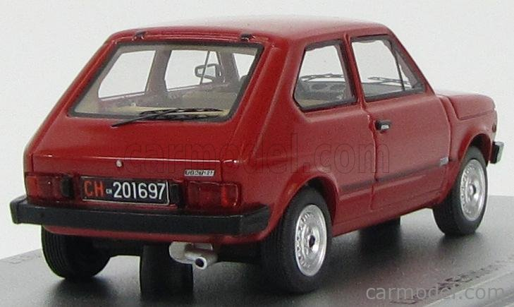 KESS-MODEL KE43010071 Масштаб 1/43  FIAT 127 2S 1977 BORDEAUX