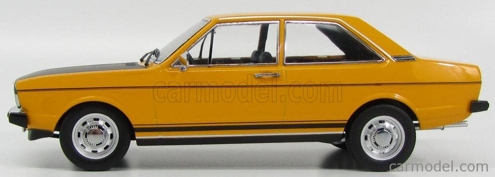 KK-SCALE KKDC180031 Echelle 1/18  AUDI 80 GTE COUPE 1974 YELLOW MATT BLACK