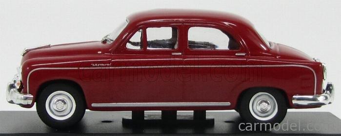 EDICOLA AUTOLEGG086 Echelle 1/43  ZASTAVA 1400 BJ 4-DOOR 1950 (FIAT) RED