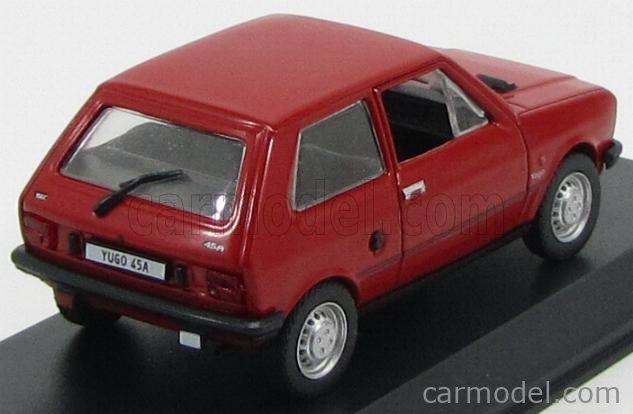 1//43 COCHE CAR ZASTAVA YUGO 45A 2 PUERTAS 1981 ROJO