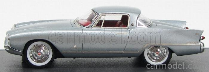 MATRIX SCALE MODELS MX41401-012 Masstab: 1/43  NASH RAMBLER PALM BEACH PININFARINA 1956 SILVER