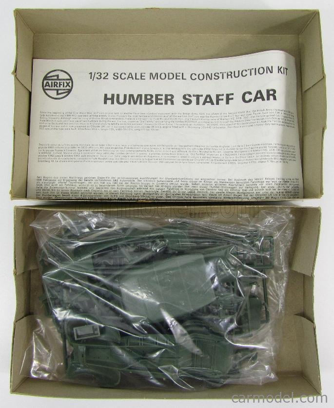 AIRFIX 055013 Echelle 1/32  HUMBER MONTY'S MILITARY MONTGOMERY PERSONAL CAR 1935 UNPAINTED KIT