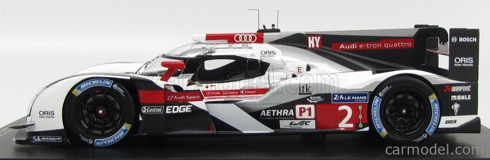 Audi R18 e-tron Winner 24h Le Mans 2014 Fässler//Lotterer//Treluyer Spark 1:43 43L