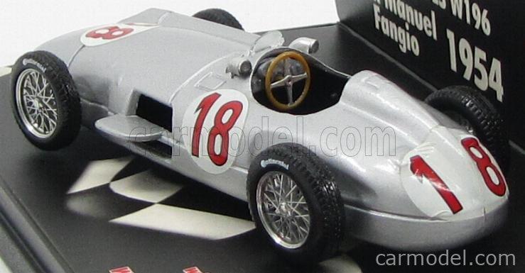 Mercedes W196C G.P Francia Fangio 1954 Brumm R280 1:43 Modellauto Diecast