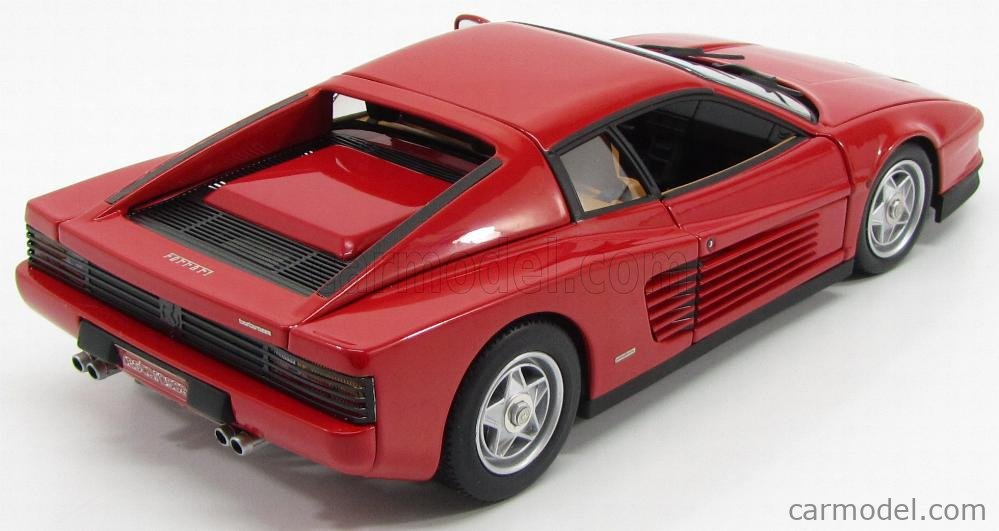 Mattel Hot Wheels J2927 Masstab 1 18 Ferrari Testarossa 1984 Red