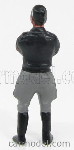 ARTIGIANALE MM-MILITARE2 Echelle 1/43  FIGURES PERSONAGGIO MILITARE FASCISTA CAMICIA NERA 1945 - BLACK SHIRT GREY BLACK