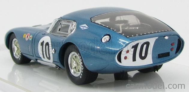 TRUESCALE TSM134316 Echelle 1/43  AC COBRA SHELBY DAYTONA COUPE CSX2287 N 10 WINNER GT CLASS 12h SEBRING 1964 B.HOLBERT BLUE WHITE