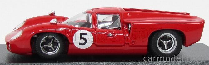 BEST-MODEL 9582 Scale 1/43  LOLA T70 COUPE N 5 WINNER SWEDEN GP 1967 Y.ROSQVIST RED