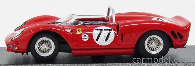 BEST-MODEL 9583 Масштаб 1/43  FERRARI 330 P2 SPIDER N 77 DAYTONA 1965 SURTEES - RODRIGUEZ RED