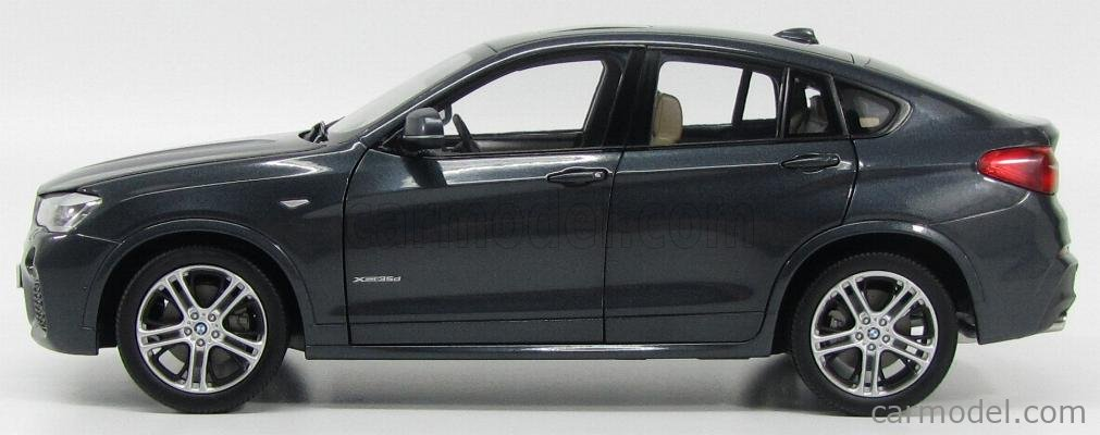 PARAGON-MODELS 80432352461 Scale 1/18  BMW X4 XDRIVE 3.5d (F26) 2014 SOPHISTO GREY MET