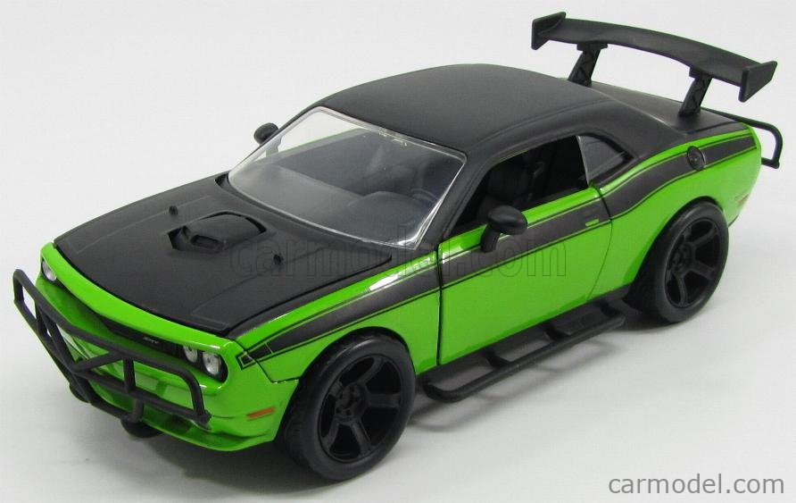 2008 Dodge Challenger Off Road Fast /& Furious 7 in 1:24 Jada Toys 97131 grün