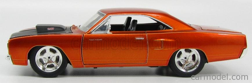 JADA 97126 Scale 1/24  PLYMOUTH DOM'S CHARGER ROAD RUNNER 1970 - FAST & FURIOUS 7 2015 COPPER MET BLACK