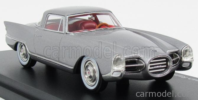 BoS-MODELS BOS43420 Masstab: 1/43  NASH RAMBLER PALM BEACH COUPE PININFARINA 1956 SILVER