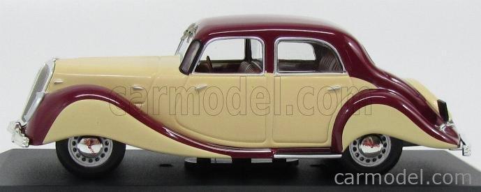EDICOLA VOITFRANCDAF030 Masstab: 1/43  PANHARD DYNAMIC BERLINE 1939 BORDEAUX CREAM