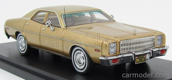 NEO SCALE MODELS NEO46450 Scale 1/43  PLYMOUTH FURY 1977 GOLD MET