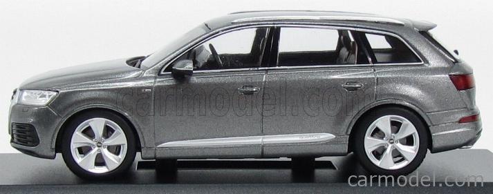 SPARK-MODEL 5011407633 Scale 1/43  AUDI Q7 V8 TDI QUATTRO S-LINE 2014 GRAPHITE GREY MET