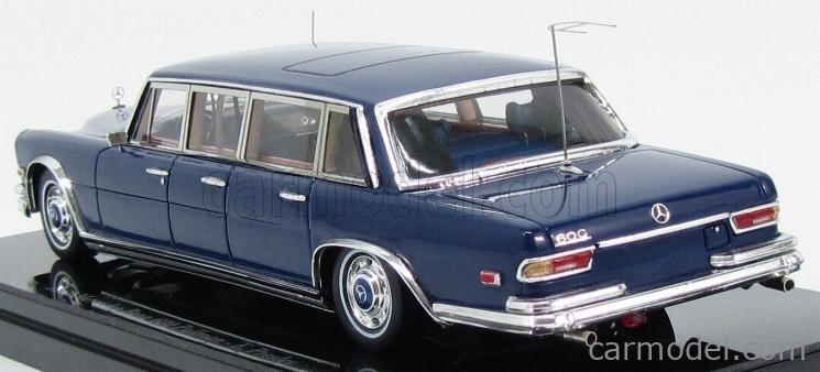 TRUESCALE TSM144339 Masstab: 1/43  MERCEDES BENZ 600 LIMOUSINE 1969 - PERSONAL CAR ELVIS PRESLEY BLUE