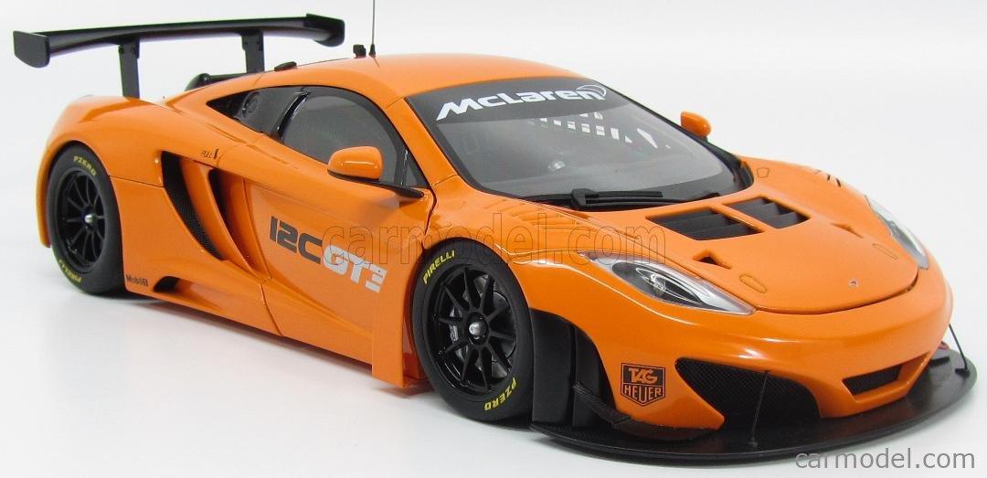 AUTOart 1//18 McLaren Mp4-12c Gt3 Presentation Car Metallic Orange 81340 for sale online