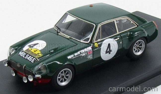 PINKO PI270 Masstab: 1/43  MG B GT N 4 MARATHON DE LA ROUTE 1968 BRITISH RACING GREEN