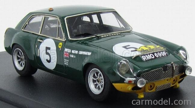 PINKO PI271 Masstab: 1/43  MG B GT N 5 MARATHON DE LA ROUTE 1968 BRITISH RACING GREEN