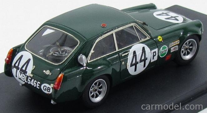 PINKO PI268 Masstab: 1/43  MG B GT N 44 SEBRING 1968 BRITISH RACING GREEN