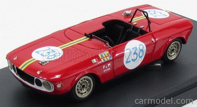 PINKO PI272 Echelle 1/43  LANCIA FULVIA F&M SPECIAL N 238 TARGA FLORIO 1969 MUNARI - AALTONEN RED