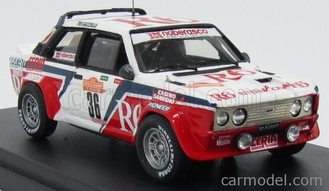 PINKO PI264 Masstab: 1/43  FIAT 131 ABARTH GR4 R6 N 36 RALLY SANREMO 1982 NOBERASCO - CIANCI WHITE RED
