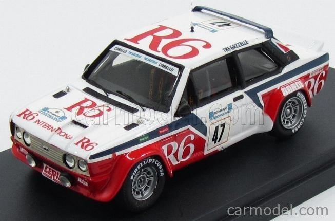PINKO PI265 Masstab: 1/43  FIAT 131 ABARTH GR4 R6 N 47 RALLY ACROPOLIS 1982 TONY - CARELLO WHITE RED