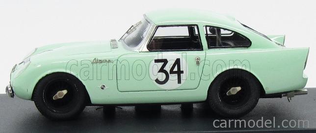 PINKO PI224 Masstab: 1/43  SUNBEAM ALPINE TEAM SUNBEAM TALBOT N 34 24h LE MANS 1961 P.HARPER - P.PROCTER LIGHT GREEN