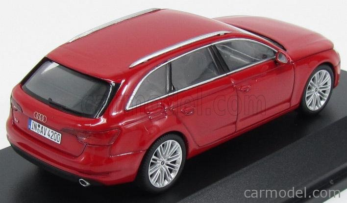 SPARK-MODEL 5011504223 Scale 1/43  AUDI A4 AVANT 2015 TANGO RED