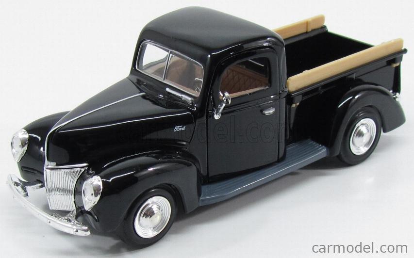 1940 black MotorMax 1:24 FORD Pick up