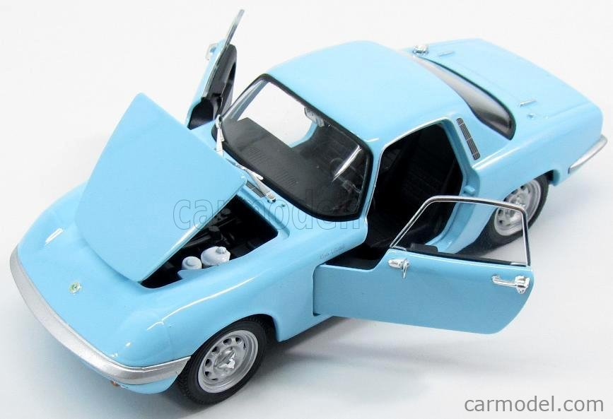 Modellauto rot 1965 Fertigmodell Lotus Elan Welly 1:24