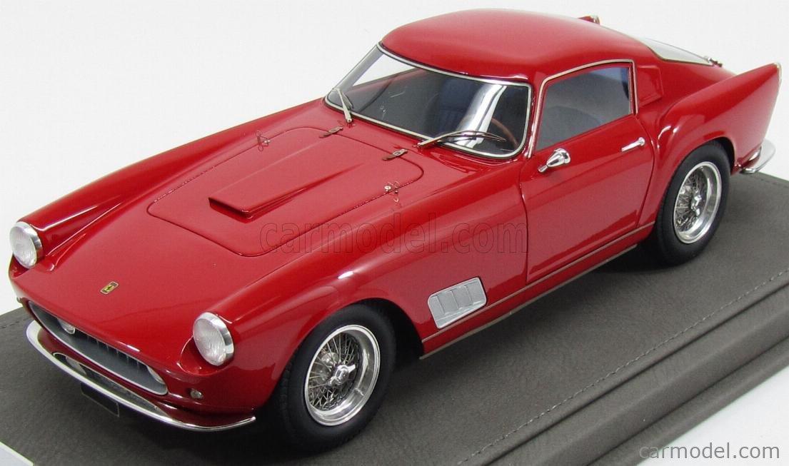 Bbr Models Bbr1817a Vet Masstab 1 18 Ferrari 250 Tdf Faro Diritto 1958 Con Vetrina With Showcase Red