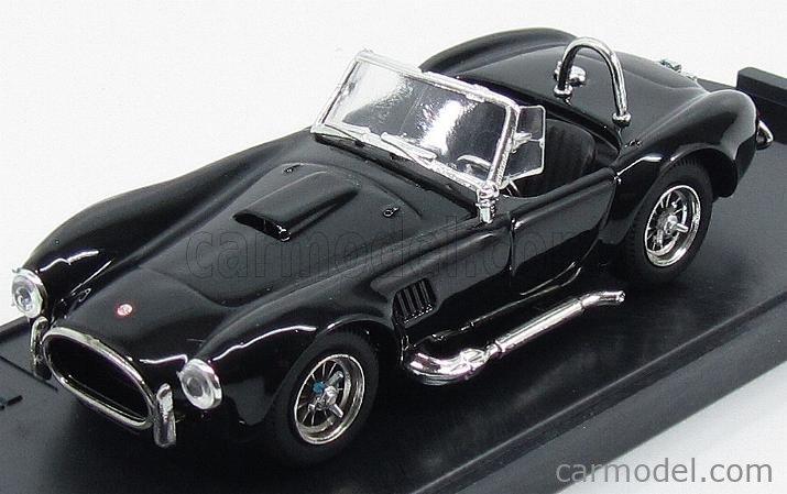 BOX-MODEL 8411 Echelle 1/43  AC COBRA SHELBY COBRA SPIDER 1962  BLACK